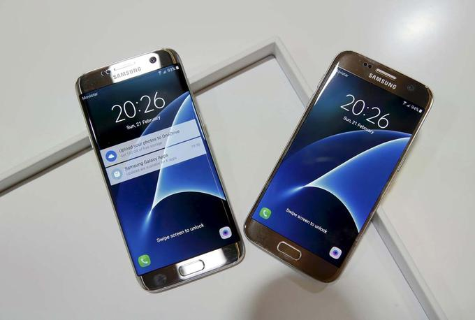 Samsung Galaxy S7 in S7 edge sta bila do prihoda Galaxy Note 7 letos najbolj prodajana Samsungova telefona. Na trgu sta zaostajala le za Applovima iPhone 6S in 6S Plus.