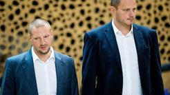 Matej Erjavec and Rašo Nesterović
