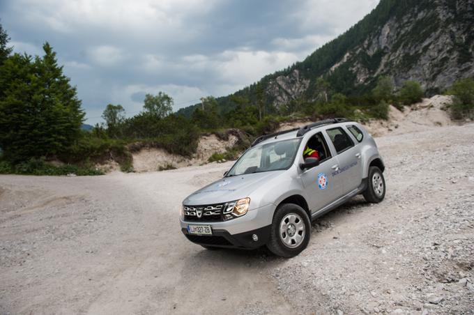 Dacia Duster je že vrsto let zvesta spremljevalka naših gorskih reševalcev.