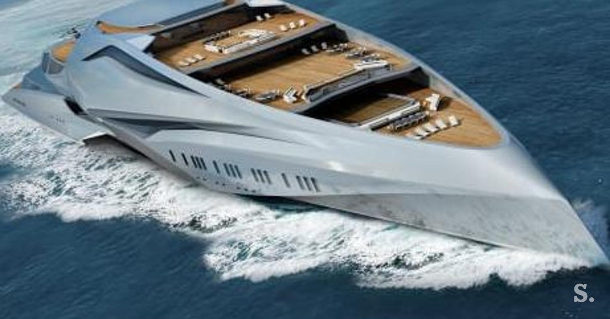 Extraordinary Is This The New Biggest Yacht In The World Photo
