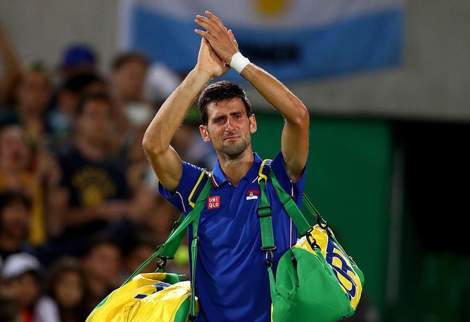 Novak Djokovic experienced a big disappointment in Rio.