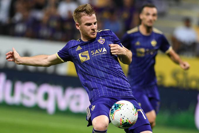 Rudy Pozega Vankash scored the only goal for Maribor in the return game.