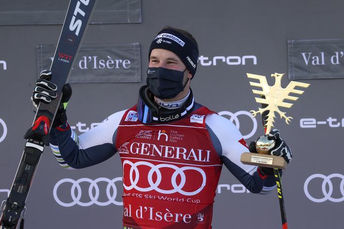 Na dan smuka svetovnega prvenstva bosta minila dva meseca od Čatrove zmage v Val d'Iseru.