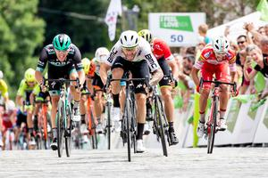 Nizzoli ahead of Mezgec, Ulissi defends the green jersey #video