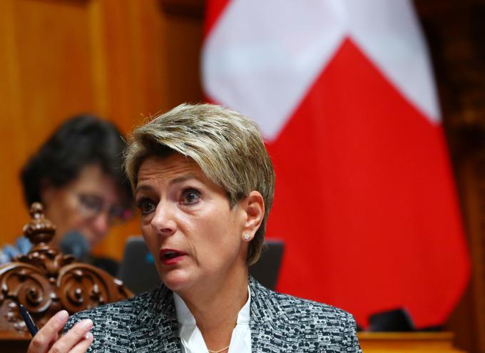 Švicarska pravosodna ministrica Karin Keller-Sutter