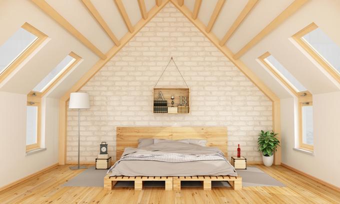 Sanjska mansarda veliko je odvisno od svetlobe - Arredare casa con i pallet ...