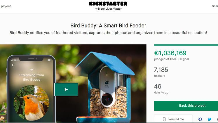 Kickstarter Bird Buddy